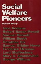 Social welfare pioneers