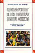 Contemporary black American fiction writers