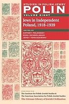 Jews in Independent Poland, 1918-1939