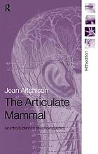 The articulate mammal an introduction to psycholinguistics