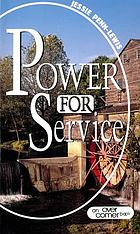Power for service : a collection of small booklets dealing with this theme