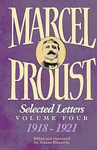 Marcel Proust, selected letters