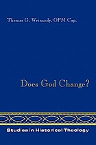 Does God change? : the Word's becoming in the Incarnation