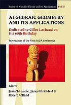 Algebraic geometry and its applications : dedicated to Gilles Lachaud on his 60th birthday : proceedings of the First SAGA Conference, Papeete, France, 7-11 May 2007