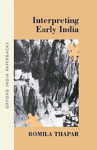 Interpreting early India