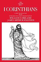 I Corinthians : a new translation
