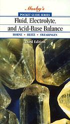 Fluid, electrolyte, and acid-base balance : a case study approach