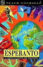 Teach yourself Esperanto