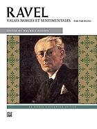 Valses nobles et sentimentales : pour orchestre