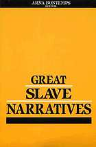 Great slave narratives