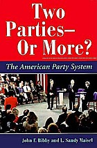 Two parties--or more? : the American party system