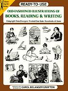 Ready-to-use old-fashioned illustrations of books, reading & writing : copyright-free designs, printed one side, hundreds of use