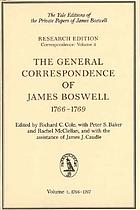 The general correspondence of James Boswell
