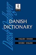 Danish dictionary : Danish-English, English-Danish