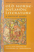 Old Norse--Icelandic literature : a critical guide