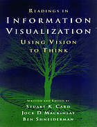 Readings in information visualization : using vision to think