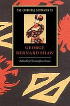 The Cambridge companion to George Bernard Shaw