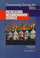 Increasing neighborhood service