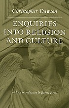 Enquiries into religion and culture
