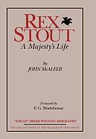 Rex Stout : a majesty's life