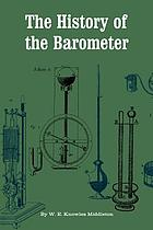 The history of the barometer