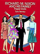 Richard M. Nixon and his family paper dolls