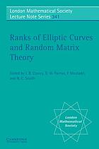 Ranks of elliptic curves and random matrix theory