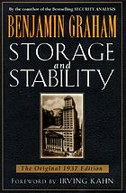 Storage and stability; a modern ever-normal granary