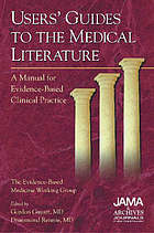 User's guide to medical literature: a manual for evidence-b