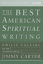 The best American spiritual writing 2008