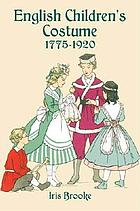 English children's costume since 1775