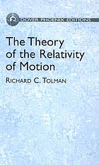 The theory of the relativity of motion