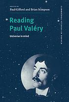 Reading Paul Valéry : universe in mind
