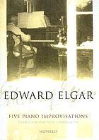Five piano improvisations