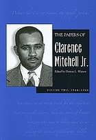1944-1946The papersThe papers of Clarence Mitchell Jr