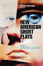 The Back Stage book of new American short plays : 20 plays, 20 fresh new voices