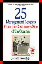 25 management lessons from the customer's side of the counter