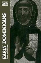 Early Dominicans : selected writings