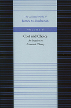 Cost and choice; an inquiry in economic theory