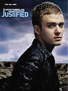 Justified : piano, vocal, chords
