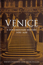 Venice : a documentary history, 1450-1630