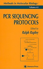 PCR sequencing protocols