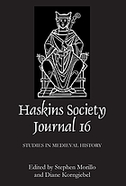 The Haskins society journal : studies in medieval history