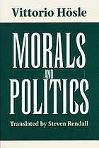 Morals and politics