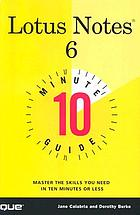 Lotus Notes 6 10 minute guide