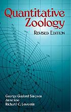 Quantitative zoology