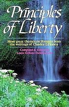 Principles of liberty