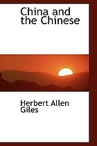 China and the Chinese