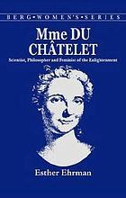 Mme. du Châtelet