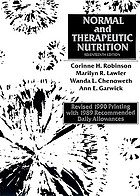 Normal and therapeutic nutrition